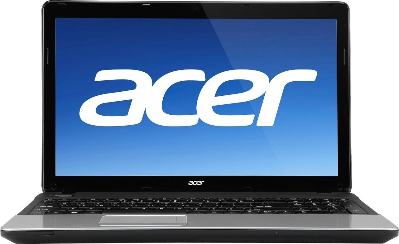 Ноутбук Acer ASPIRE E1-571-Intel Core-I7-3632QM-2.2GHz-4Gb-DDR3-320Gb-HDD-W15.6-Web-(B)- Б/У