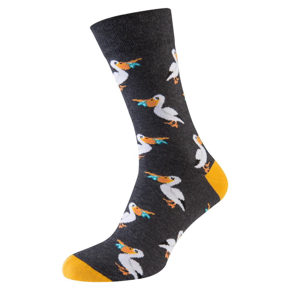 """Носки мужские цветные из хлопка,""""Пеликан"""""""
