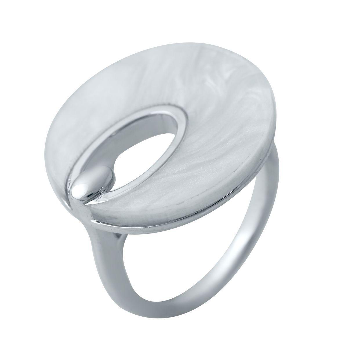 Серебряное кольцо DreamJewelry с натуральным перламутром (2038818) 18 размер