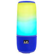 Портативна Bluetooth колонка LZ Pulse P3 Blue (2952-8360)