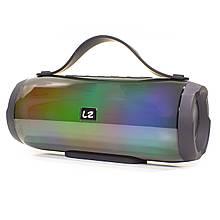 Портативна Bluetooth колонка LZ E17 Black (2955-8370)