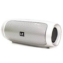 Портативна Bluetooth колонка LZ Charge 4 Silver (2947-8339)