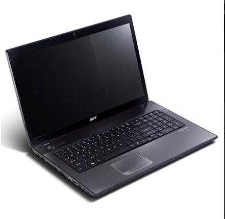 Ноутбук Acer Aspire 7741-Intel Core-i3-370M-2.40GHz-4Gb-DDR3-320Gb-HDD-W17.3-Web-(С)- Б/У, фото 2