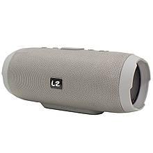Портативна Bluetooth колонка LZ Charge 3 Grey (2946-8335)