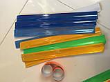 Браслет светоотражающий, 30 см (оранжевый), комплект из 2 пар, фото 4