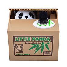 Копилка Панда-воришка Черно-белый (hub_DlaK36960)