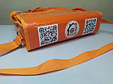 Термосумка для пиццы 45*45 на 2 коробки из ткани ПВХ. На липучках., фото 4
