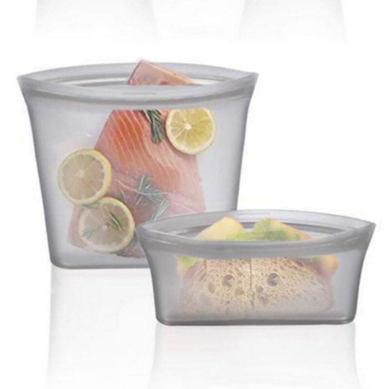 Набір №3 пакет-контейнери для зберігання/ готування/ перенесення їжі (hub_EKOv26834)
