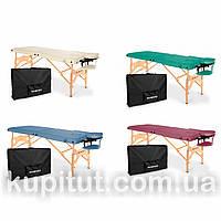 Складной массажный стол, 2-х сегментный, деревянный AVENO Life Aura, фото 1