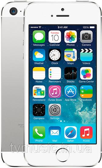 Мобильный телефон iPhone 5S 16GB Silver Refurbished
