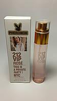 Парфюмированная вода Carolina Herrera 212 VIP Rose с феромонами
