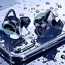 Беспроводная гарнитура KUMI T3S Black Bluetooth 5.0 влагозащищенная сенсорная с зарядным кейсом (3564-9948), фото 6