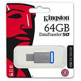 USB флеш накопитель Kingston 64GB DT50 USB 3.1 (DT50/64GB), фото 2