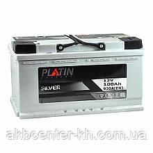 Автомобильный аккумулятор PLATIN Silver MF 6CT 100Aз 920A R