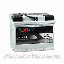 Автомобильный аккумулятор PLATIN Silver MF 6CT 65Aз 640A L