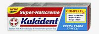 Kukident Super-Haftcreme extra stark - Крем-клей для сильной фиксации зубных протезов 47 гр.