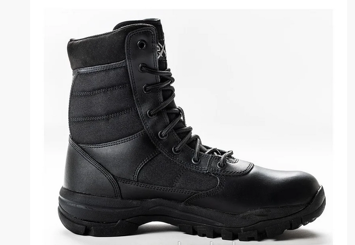 Ботинки кожаные военные, армейские EXC Trooper 8.0. Спецобувь. Берцы тактические.