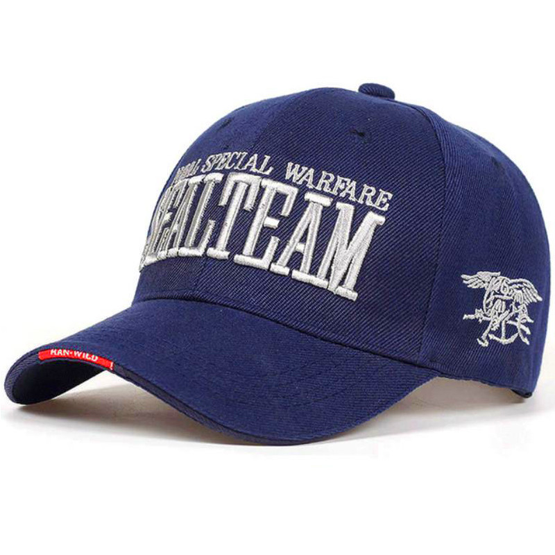 Бейсболка Han-Wild Sealteam Синий (4859-14209)