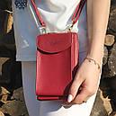 Кошелек-клатч Forever N8591, красный, фото 6