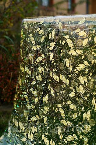 Прозрачное Мягкое стекло с лазерным рисунком, ширина 60 см, фото 2