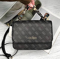 Женская небольшая сумка на плечо Guess (602814) grey