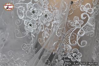 Свадебный платок со стразами Люси, фото 3