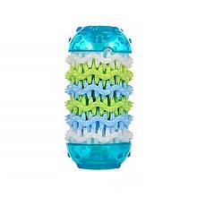 Игрушка кость для чистки зубов у собак CHEW TOY 17T Blue M (5290-18070)