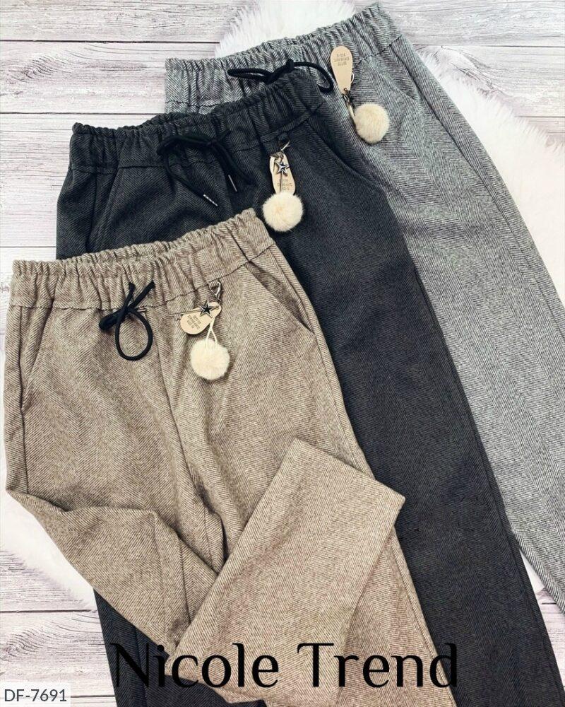 Женские брюки твид