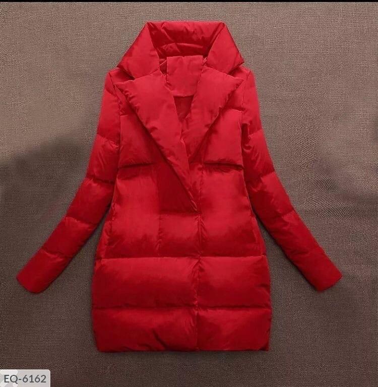 Женская куртка с воротником (Батал)