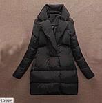 Женская куртка с воротником (Батал), фото 2