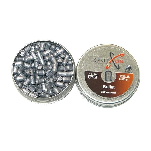 Кулі пневматичні Spoton Bullet, 4.5 мм, 0.90 гр., 250 шт.