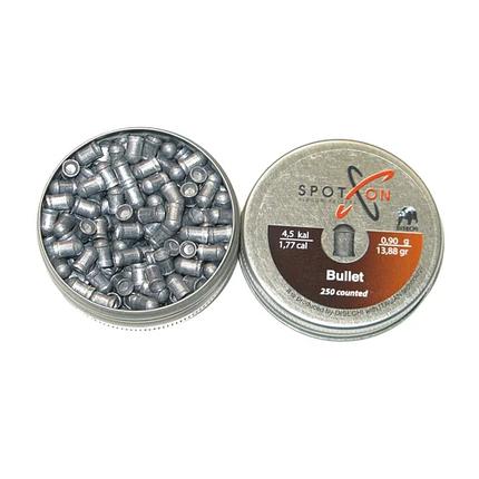 Кулі пневматичні Spoton Bullet, 4.5 мм, 0.90 гр., 250 шт., фото 2