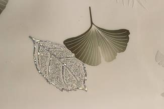 Мягкое стекло с лазерным рисунком на белом непрозрачном фоне для стеклянных и деревянных поверхностей,, фото 3