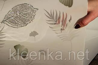 Мягкое стекло с лазерным рисунком на белом непрозрачном фоне для стеклянных и деревянных поверхностей,, фото 2