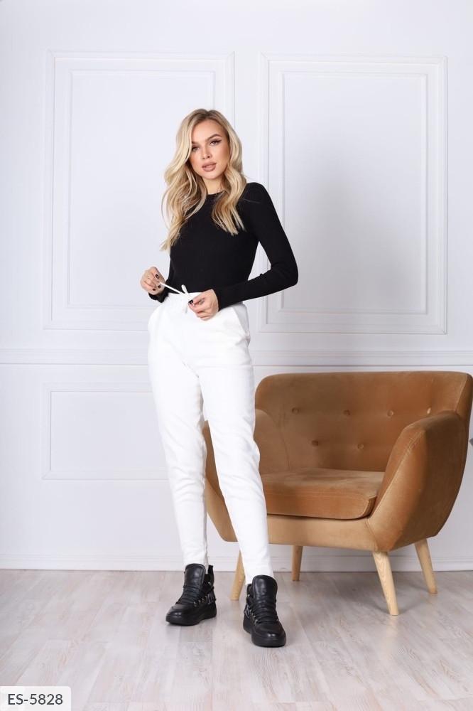 Вельветовые женские штаны