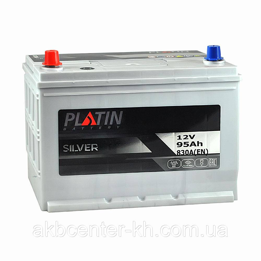 Автомобильный аккумулятор PLATIN Silver SMF JP 6CT 95Aз 830A L