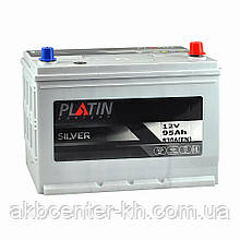 Автомобильный аккумулятор PLATIN Silver SMF JP 6CT 95Aз 830A R