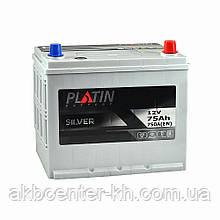 Автомобильный аккумулятор PLATIN Silver SMF JP 6CT 75Aз 750A R