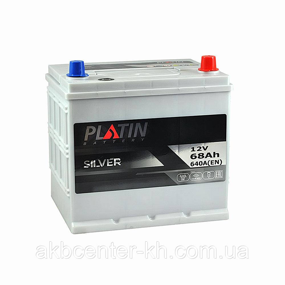 Автомобильный аккумулятор PLATIN Silver SMF JP 6CT 68Aз 640A R