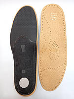 Ортопедические кожаные стельки Corby с 36- 46рр. индивидуальный размер, фото 1
