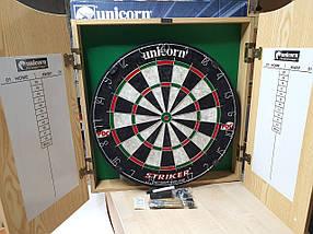 Фирменный набор для игры в дартс Striker Unicorn Англия, фото 3