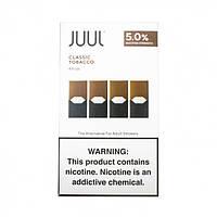 Поды картриджи Juul 4 х 0.7 мл (Classic Tobacco)