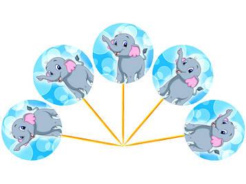 """""""Слонёнок"""" - Топперы"""