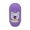 Гігієнічний набір (ведмідь) фіолетовий