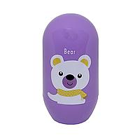 Гігієнічний набір (ведмідь) фіолетовий, фото 1