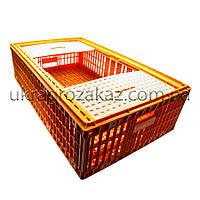 Ящик для перевозки живой птицы с двумя верхними дверцами 96х57х27, фото 1