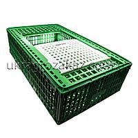 Ящик для перевозки живой птицы с раздвижной верхней дверкой 96х57х27