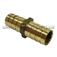 Трубка соединительная 14х14 мм латунь, фото 1