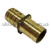 Трубка соединительная 18х18 мм латунь, фото 1