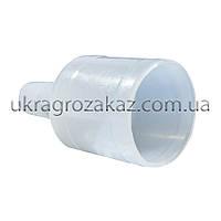 Пластиковый штуцер (25мм-13.5мм), фото 1